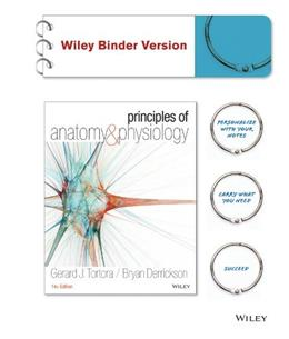 Principles of Anatomy and Physiology 14th Edition 9781118344392