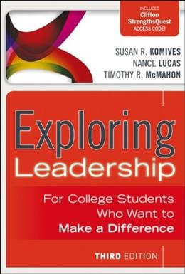 Exploring Leadership: For College Students Who Want to Make a Difference 3 PKG 9781118399477