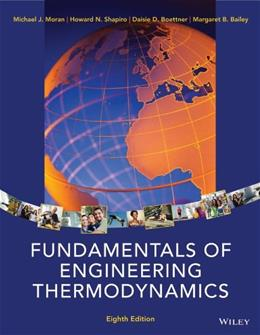 Fundamentals of Engineering Thermodynamics 8 9781118412930