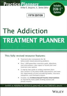 Addiction Treatment Planner, by Perkinson, 5th Edition 9781118414750