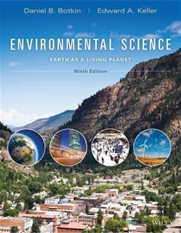 Environmental Science: Earth as a Living Planet 9 9781118427323