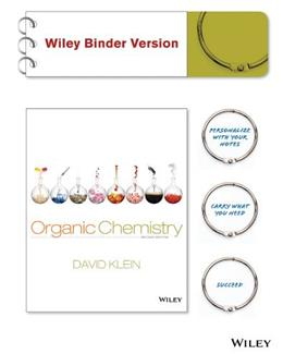 Organic Chemistry, Binder Ready Version 2 9781118454312