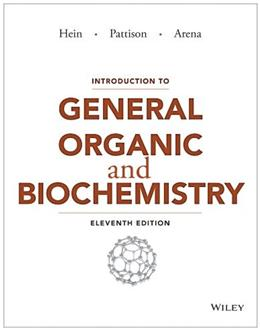 Introduction to General, Organic, and Biochemistry 11 9781118501894