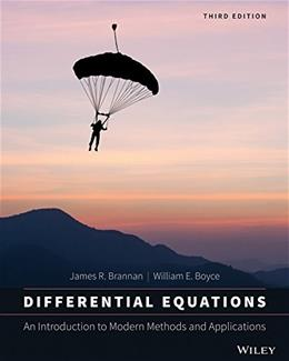 Differential equations; a short course for engineering students 1905 [Hardcover] 3 9781118531778