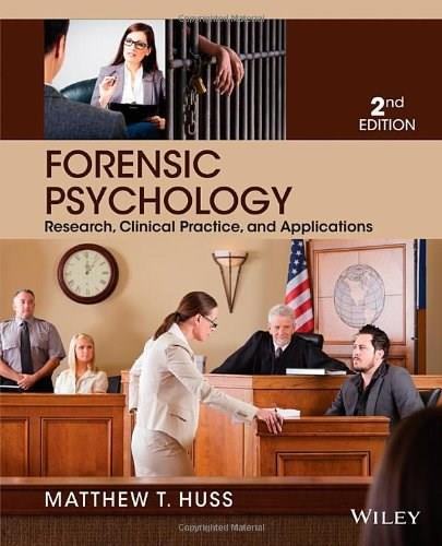 Forensic Psychology 2 9781118554135