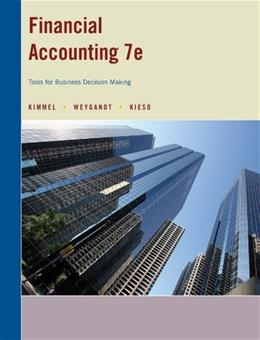 Financial Accounting: Tools for Business Decision Making, by Kimmel, 7th CUSTOM EDITION 9781118586112