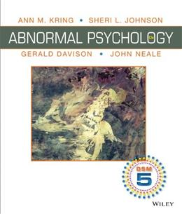 Abnormal Psychology, Binder Ready Version: DSM-5 Update 12 9781118640883
