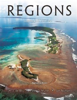 Geography: Realms, Regions, and Concepts, 16th Edition 9781118673959