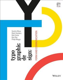 Typographic Design: Form and Communication 6 9781118715765