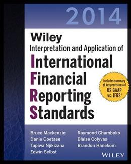 Wiley IFRS 2014: Interpretation and Application of International Financial Reporting Standards, by Mackenzie 11 9781118734094
