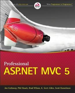 Professional ASP.NET MVC 5, by Galloway 9781118794753