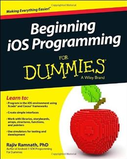 Beginning iOS Programming For Dummies 1 9781118799277