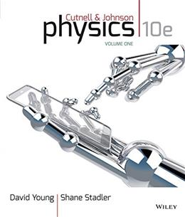 Physics, Volume One: Chapters 1-17 10 9781118836880