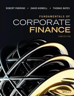 Fundamentals of Corporate Finance 3 9781118845899