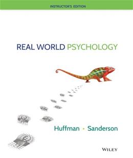 Real World Psychology Teachers E 9781118857779