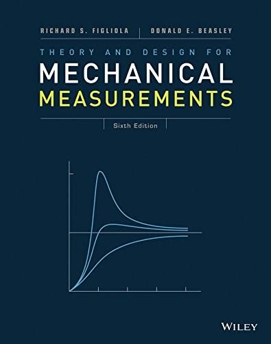 Theory and Design for Mechanical Measurements 6 9781118881279
