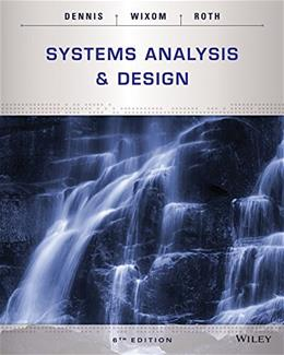 Systems Analysis and Design 6 9781118897843