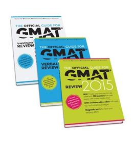 Official Guide for GMAT Review 2015, by Graduate Management Admission Council PKG 9781118923221