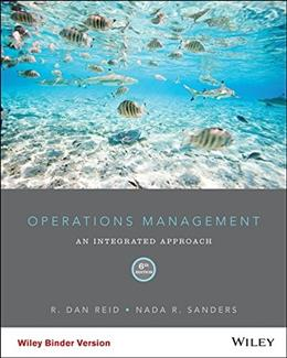 Operations Management: An Integrated Approach, 6th Edition 9781118952610