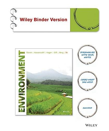 Environment, by Raven, 9th Edition 9781118978443