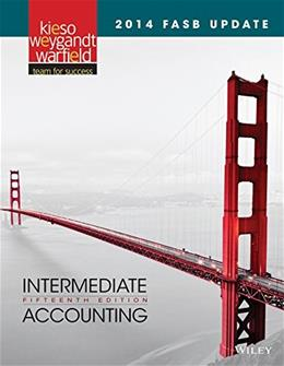 Intermediate Accounting: 2014 FASB Update 15 9781118985311