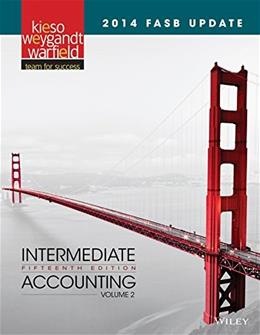2014 FASB Update Intermediate Accounting 15e, Volume 2 9781118985328