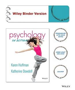 Psychology in Action, Binder Ready Version 11 9781119000594