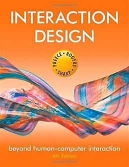 Interaction Design: Beyond Human-Computer Interaction 4 9781119020752