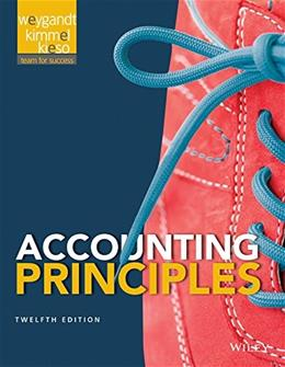 Accounting Principles 12e + WileyPLUS Registration Card 9781119036289