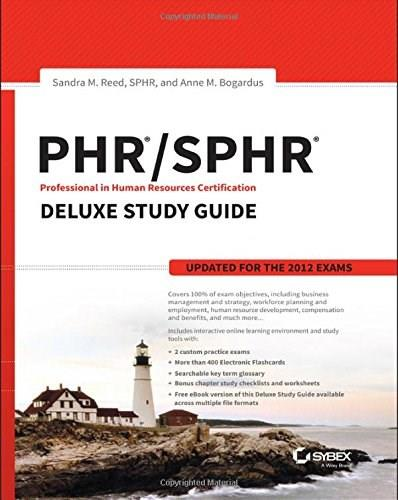 PHR / SPHR Professional in Human Resources Certification Deluxe Study Guide 9781119068136