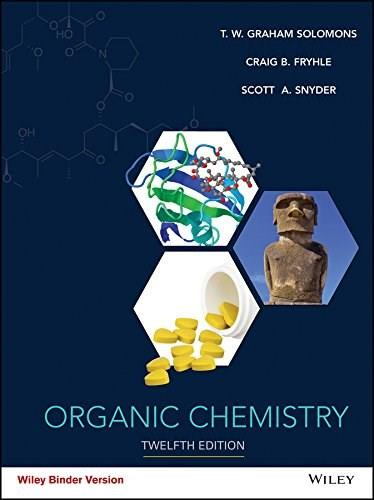 Organic Chemistry, by Solomons, 12th Edition 9781119077251