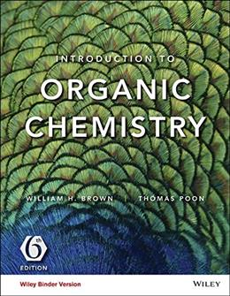 Introduction to Organic Chemistry, by Brown, 6th Edition, Binder Ready 9781119106968