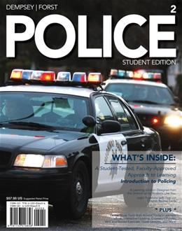 Police, by Dempsey, 2nd Edition 2 PKG 9781133016656