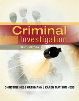 Criminal Investigation 10 9781133018926