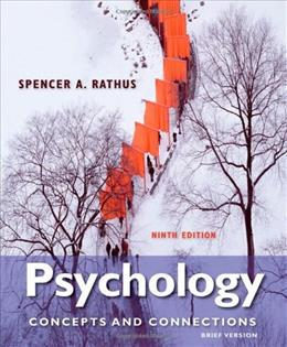Psychology: Concepts & Connections, Brief Version 9 9781133049548