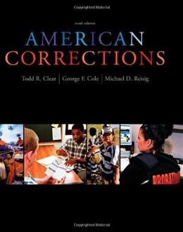 American Corrections, 10th Edition 9781133049739