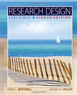 Research Design Explained 8 9781133049838