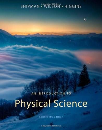 An Introduction to Physical Science 13 9781133104094