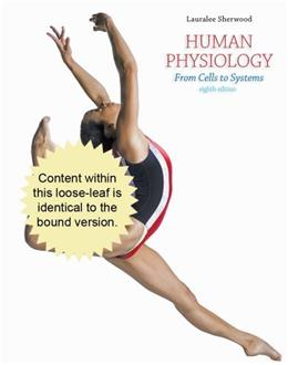 Human Physiology: From Cells to Systems, by Sherwood, 8th Cengage Advantage Edition 9781133104551