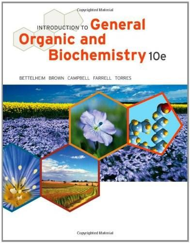 Introduction to General, Organic and Biochemistry 10 9781133105084