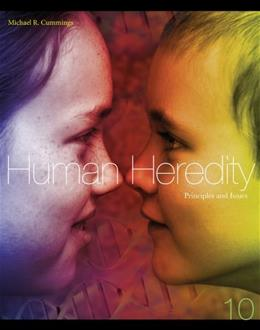 Human Heredity: Principles and Issues 10 9781133106876