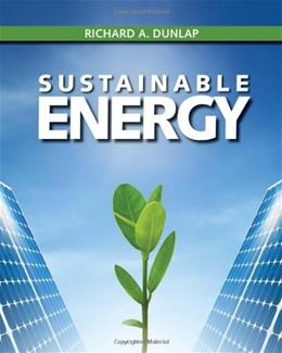 Sustainable Energy, by Dunlap 9781133108689