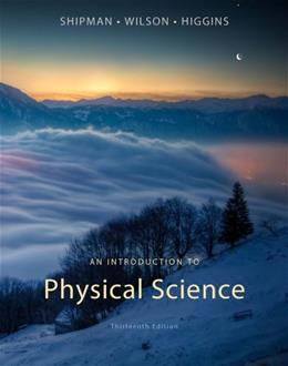 An Introduction to Physical Science 13 9781133109099