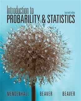 Student Solutions Manual for Mendenhall/Beaver/Beavers Introduction to Probability and Statistics, 14th 9781133111511