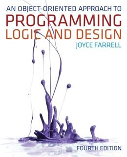 An Object-Oriented Approach to Programming Logic and Design 4 9781133188223