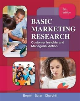 Basic Marketing Research (with Qualtrics Printed Access Card) (TEST series page) 8 PKG 9781133188544