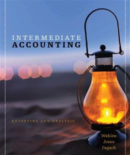 Intermediate Accounting Reporting Analysis, by Wahlen, Study Guide 9781133188995