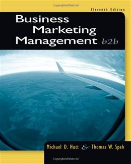 Business Marketing Management: B2B 11 9781133189565