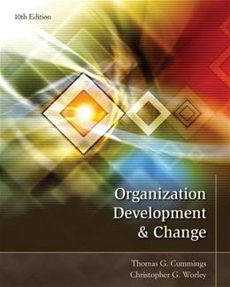 Organization Development and Change 10 9781133190455