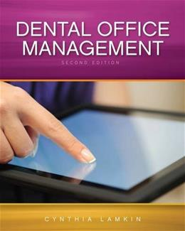 Dental Office Management, by Lamkin, 2nd Edition 2 w/DVD 9781133283119